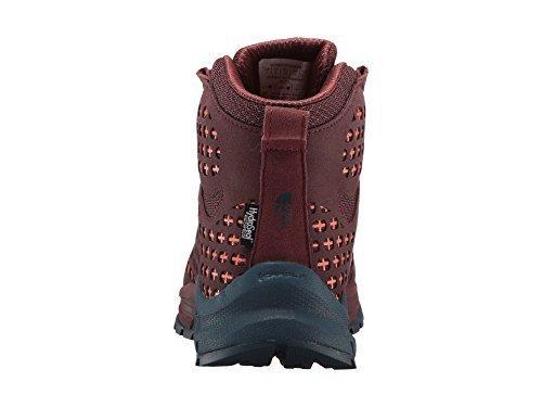 cbef254a6 The North Face Women's Mountain Sneaker Mid Waterproof (8, Bitter Chocolate  Brown/Nasturtium Orange)