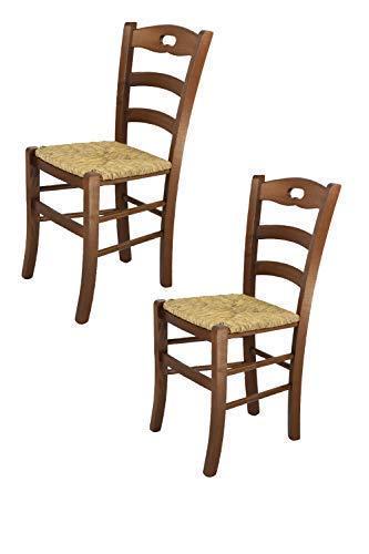 Tommychairs sedie di Design - Set 2 sedie Modello Savoie per Cucina ...