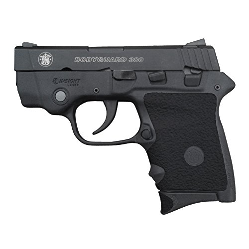 Traction Grip Overlays in black for Smith and Wesson Body Guard 380 pistols