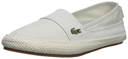 Lacoste Women's Marice Sneaker, Off White Hemp, 7 Medium US