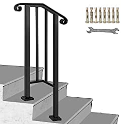 Happybuy Handrail Picket #1 Fits 1 or 2 ...