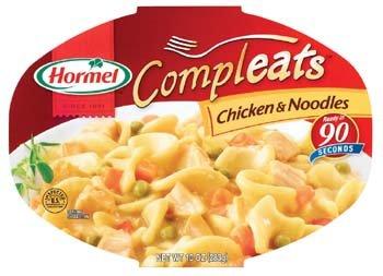 Hormel Microondas Compleats Pollo & Noodles 10 oz (Pack de 6 ...