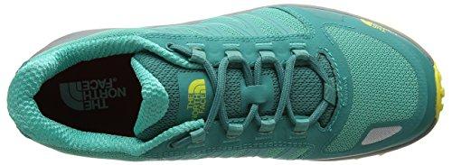 The North Face Litewave Fastpack, Zapatillas de Senderismo Para Mujer Verde (Porcelain Green/blazing Yellow)