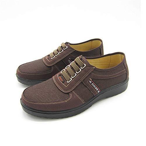 Para Marrón Marrón 3 Zapatos 5cm Eu Barco De tamaño Mocasín Con color 2 Hombre gommino Zapatillas 27 Tamaño Gommino Casual Shoes 40 0cm Marrón verde 24 Cordones wTIqTF