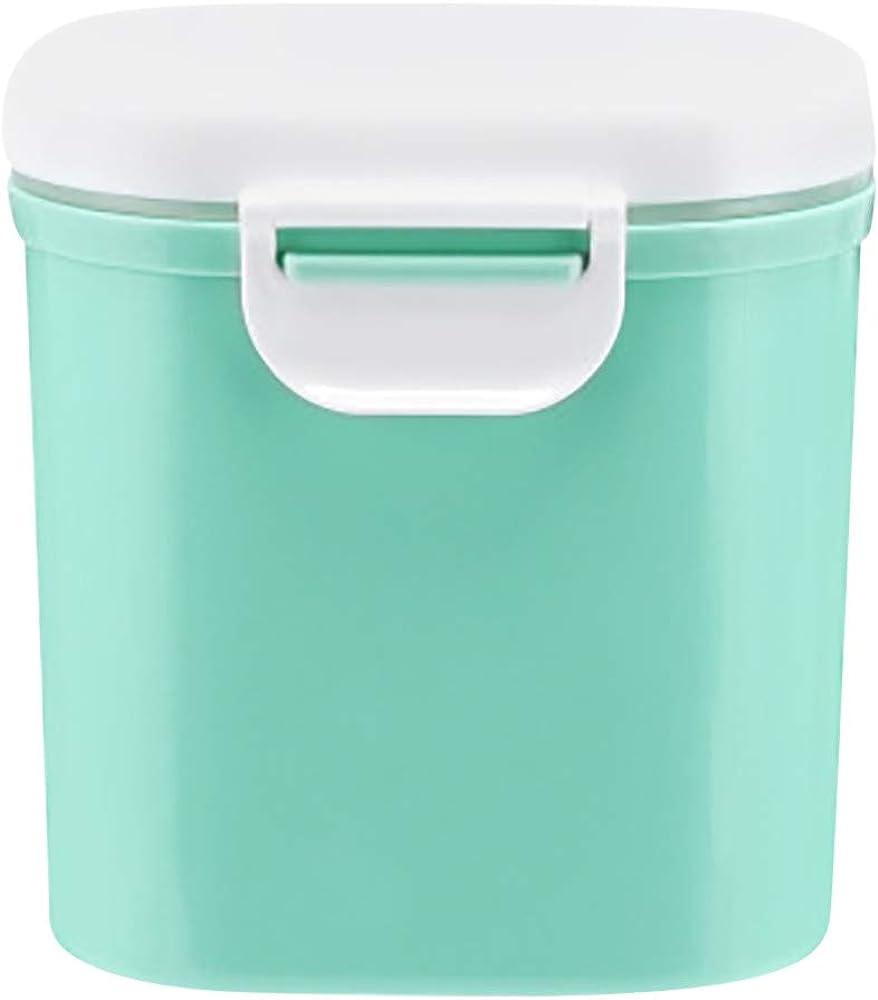 Caja de almacenamiento de leche en polvo Recipientes para leche en polvo Blue S