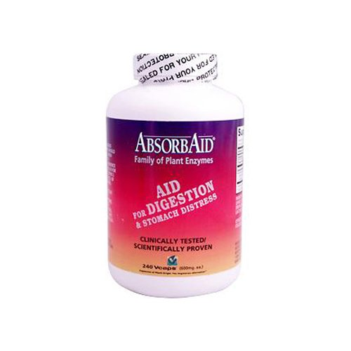 Nature's Sources Absorbaid (Digestive Enzyme) 240 (Multi 240 Caps)