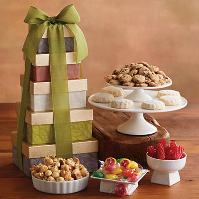 Tower of Sweet Treats - Gift Baskets & Fruit Baskets - Harry and David (Fruit Baskets David And Harry)