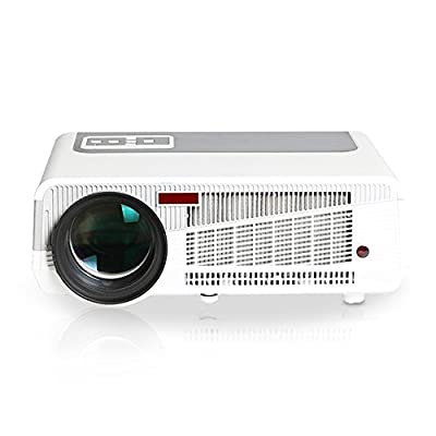 iCodis G7 Max Projector, Android OS, 3000 ISO Lumens LCD Video Projector, HD Resolution, HDMI/TV/AV/VGA/Wi-Fi Connection.