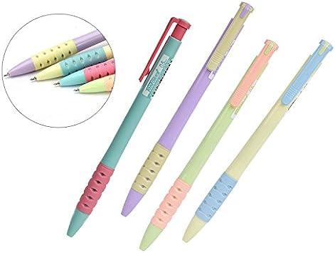 4 Pcs Metal Body Ballpoint Pen