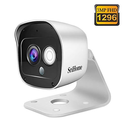 🥇 Cámara de Vigilancia WiFi SriHome SH029