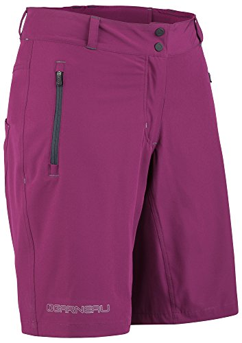 Louis Garneau - Women's Latitude Bike Shorts, Magenta Purple, - Bike Magenta