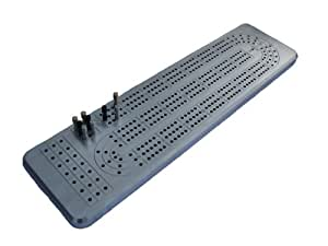 3 Track Cribbage Board Game made of Billet Aluminum