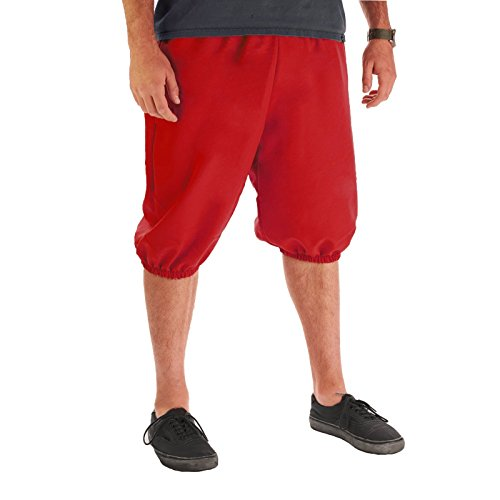 Men's Knickers Pants (XX-Large, Red)