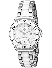 Womens WAH1315.BA0868 Formula 1 Stainless Steel Sport Watch with Diamonds