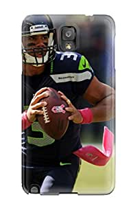Forever Collectibles Seattleeahawks 7 Hard Snap-on Galaxy Note 3 Case