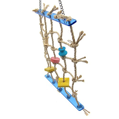 Alfie Pet by Petoga Couture - Kaelin Hanging Rope Ladder Toy for Birds by Alfie (Image #2)