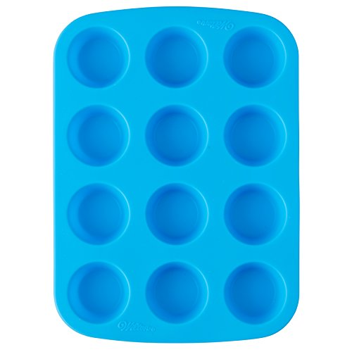 Easy-Flex Silicone Mini Muffin Pan-12 Cavity