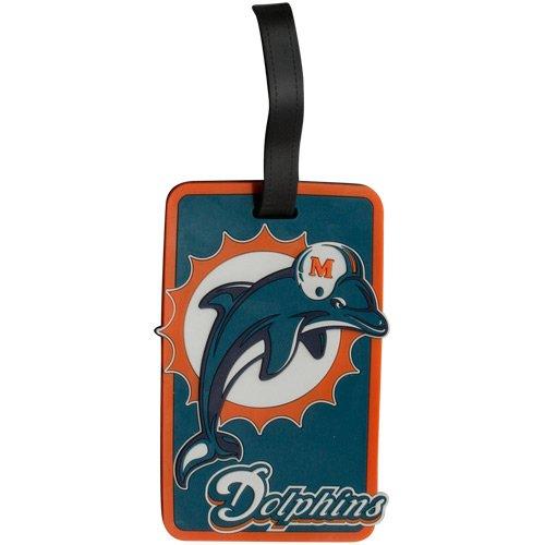 Miami Dolphins - NFL Soft Luggage Bag - Football Tags Bag
