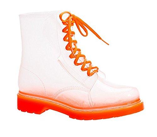 Impermeables De Yogly Para Naranja Lluvia Botas Martín Antideslizantes Transparents Mujer Agua 0gqB40