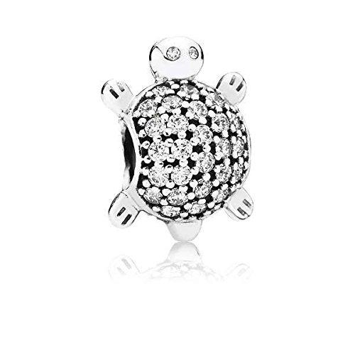 Pandora Women's Charm Sea Turtle 791538CZ, Silver