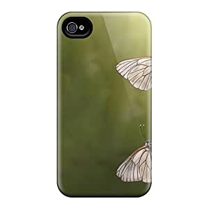 Iphone 4/4s Case Cover Skin : Premium High Quality Butterflies Case