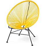 Amazon Com Yellow Chairs Living Room Furniture Home Kitchen