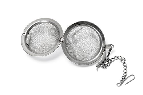 Quality Tea Infuser For Loose Tea By Emeritus - Stainless Steel Mesh Tea Ball - Tea Interval Diffuser