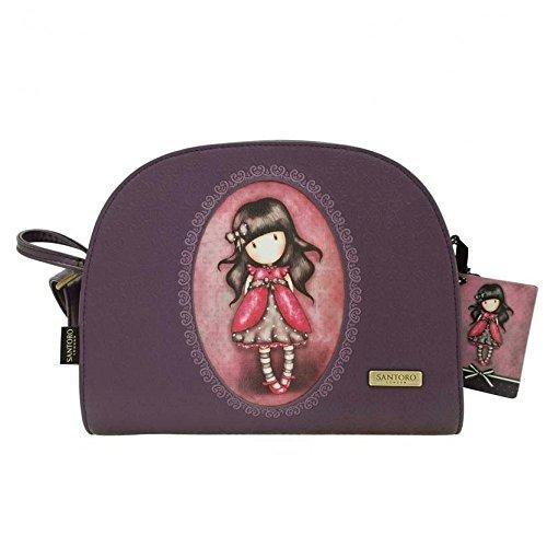 Gorjuss Ladybird Shoulder Bag - Embossed Rococo