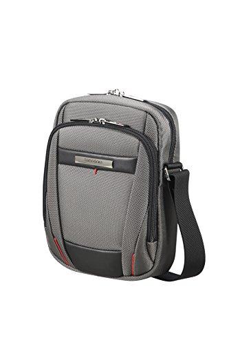 (SAMSONITE TABLET CROSSOVER 7.9'' (MAGNETIC GREY) -PRO-DLX 5 Messenger Bag, 0 cm, Grey)