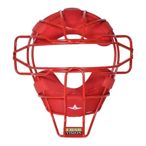 All Star Ultra Cool Lightweight Catchers Face Mask Scarlet