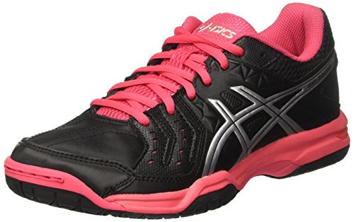 Multicolor Red Squad Mujer Americano Black Gel Silver Zapatos para Balonmano de Asics Rouge 7FOxan4