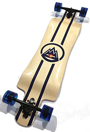 Spire Drop Deck Drop Through Longboard (Colorado Edition)