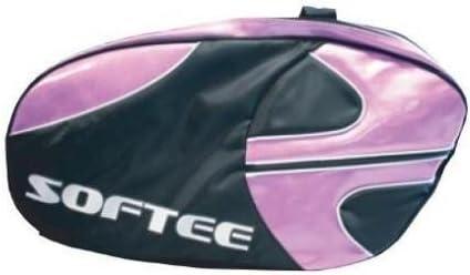 Softee 0014014 Paletero de pádel, Unisex Adulto, Violeta/Negro, Talla Única
