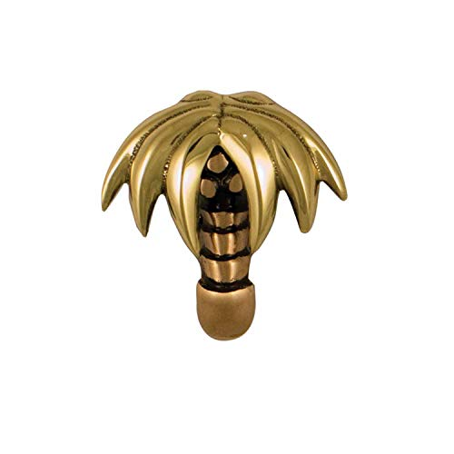 Palm Tree Doorbell Ringer - Brass/Bronze