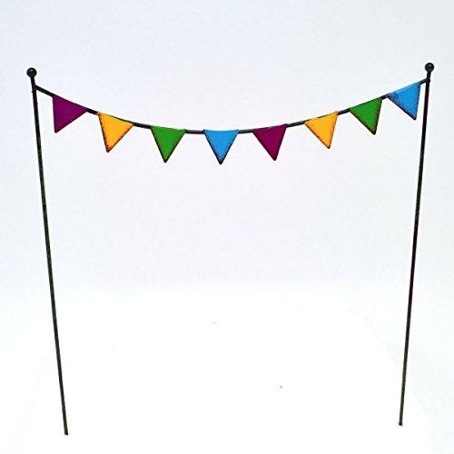 Studio M Party Flags for Miniature Garden, Fairy Garden