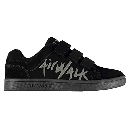 bambino materiale AirwalkScarpe in sintetico nero da kXn08OZwNP