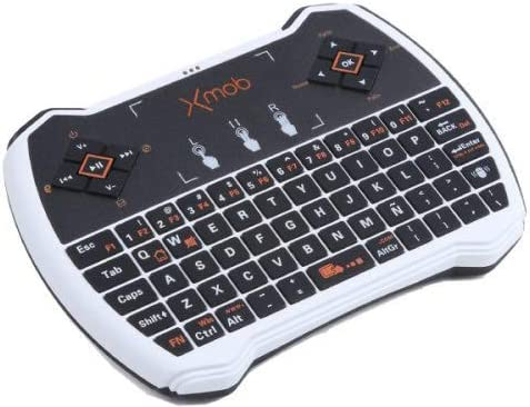 Xmob Xcontrol Pro Mando Teclado QWERTY con TouchPad para Smart TV: Amazon.es: Electrónica