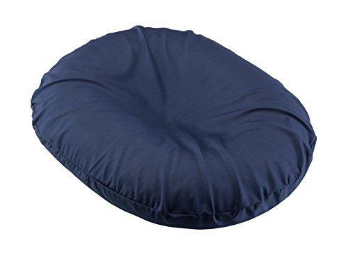 BodyHealt Donut - Cojín de asiento para hemorroides, próstata, embarazo, alivio del dolor postnatal, cirugía, Marino, 43...