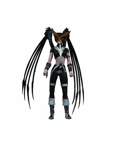 DC Direct Blackest Night: Series 6: Black Lantern Hawkgirl Action Figure ()
