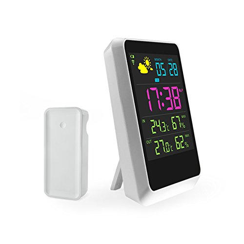 IREALIST Digital Temperature Humidity Forecast