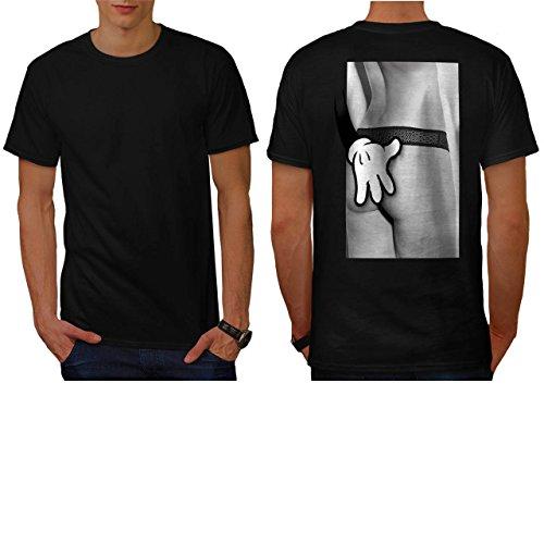 Mickey Glamour Girl Bum Booty Men NEW M T-shirt Back | - Tee Girl Glamour