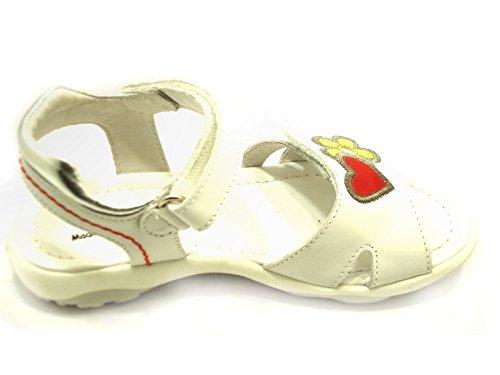 Nero Giardini Junior  Sandalo Bimba Art P430521f, Sandales pour fille blanc Bianco