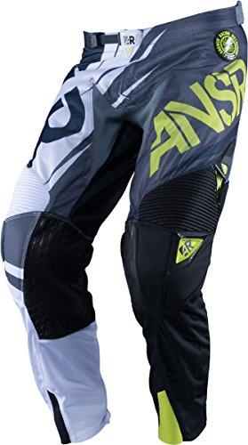 2016 Answer Racing Alpha Air Pants-Black/Green-34