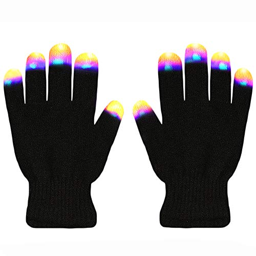 Creative Toys for Girls Boys, TOP Toy Flashing LED Gloves Gifts for Teen Girls Boys Toys for 3-12 Year Old TTUSTTG03]()