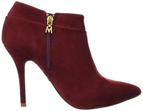 Rouge Talon à Chaussures Señora Mare Basic avec Maria Fermé Peach Burdeos Bout Femme Calzado Rouge UnP1wx