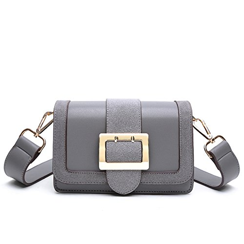 Simple DHFUD Bandoulière PU à à Mode Sac Womens Gray Bandoulière Main Sac XqXx5wgzr
