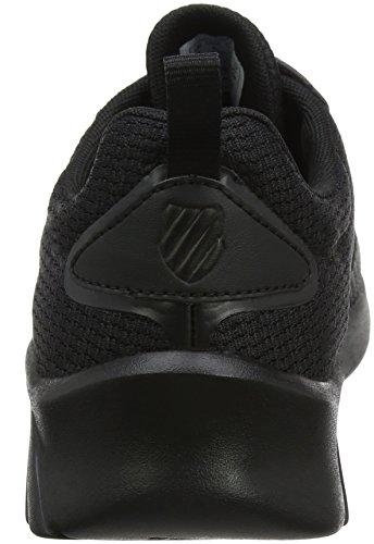 K-Swiss aeronaut, Zapatillas Para Hombre Negro (Black)