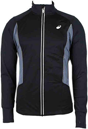 - ASICS Men's Lite-Show High Visibility Jacket, Black, Small