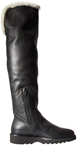 Katia Katara Dégringolée / Shearling Over The Knee Botte Noire