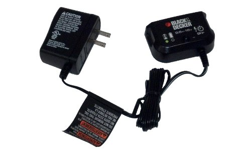 Black and Decker 9.6 -18 volt 9 hour Charger for Outdoor Power Equipment
